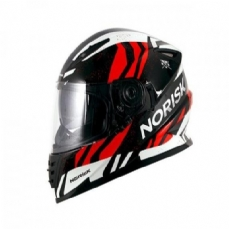 Comprar capacete-norisk-ff302-jungle-black-white-red