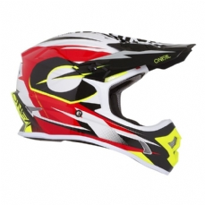 Comprar capacete-oneal-3series-riff-red